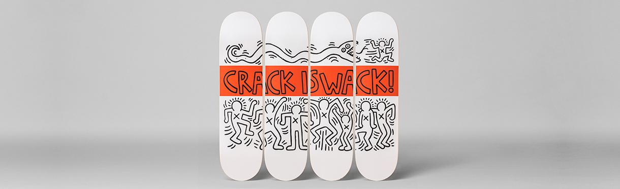 Keith Haring -Tableaux, photographie, art photographique