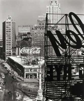 Columbus Circle, New York von Berenice Abbott