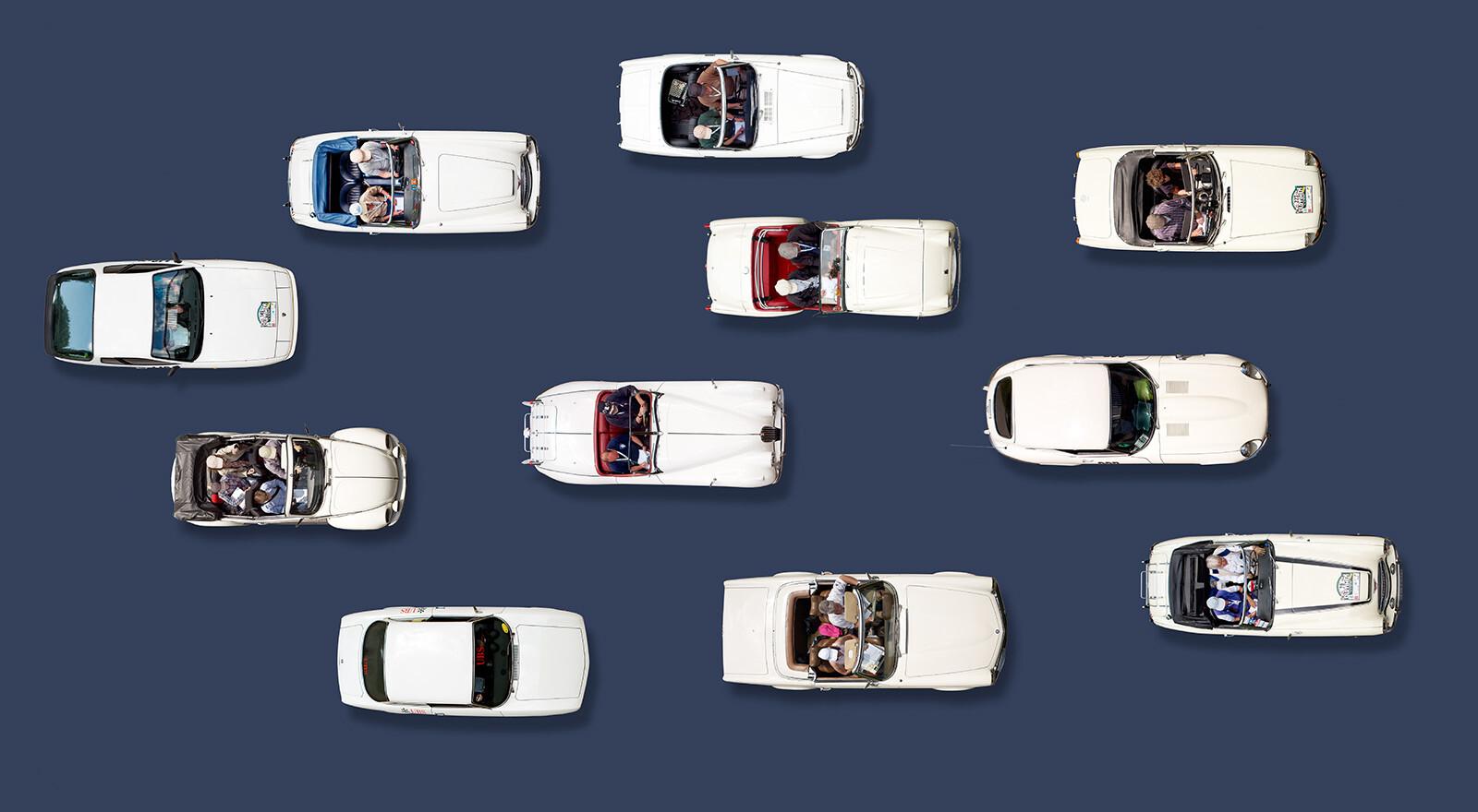 White Cars - Bernhard Schmerl