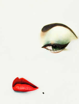 The Look by Erwin Blumenfeld