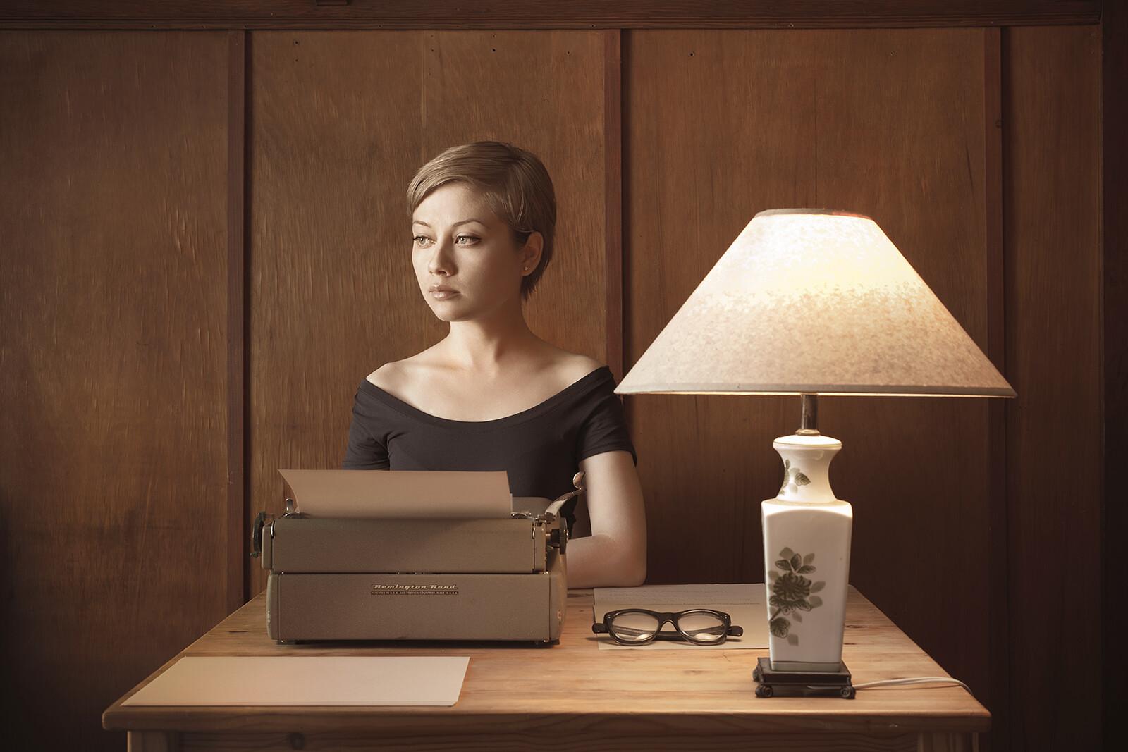 Typewriter - Kristina Varaksina