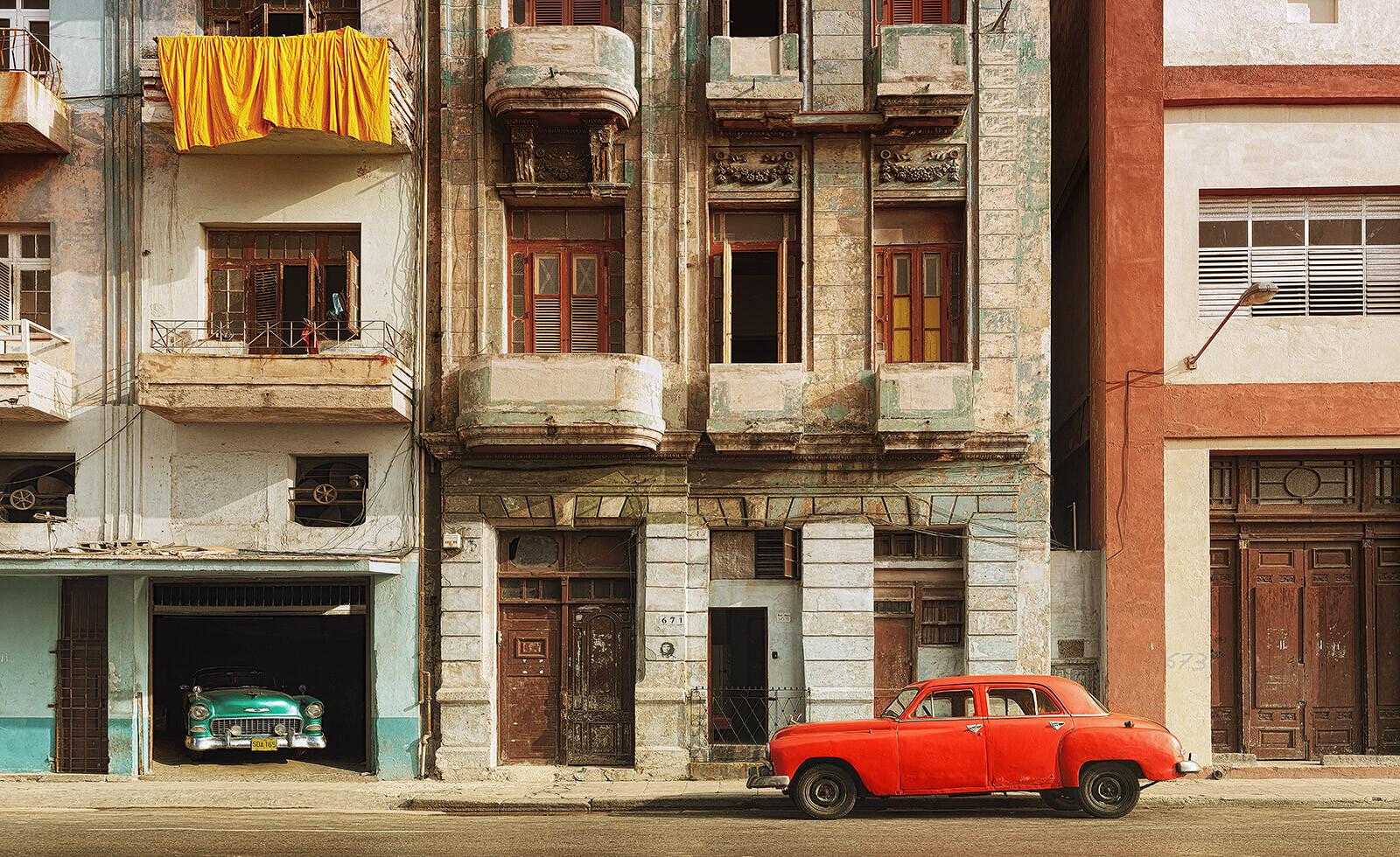San Lazaro, Havana - Luigi Visconti