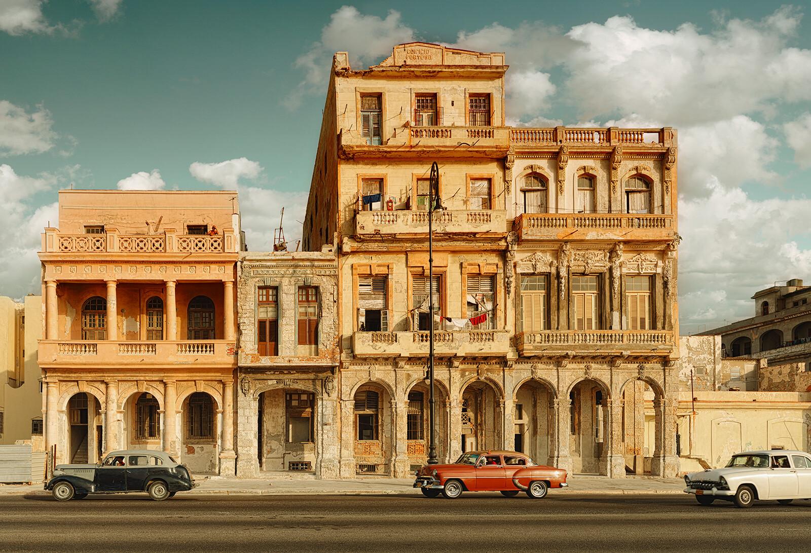 Paseo del Prado, Havana - Luigi Visconti