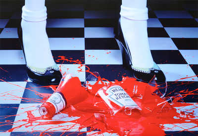 A Drop of Red #2 by Miles Aldridge