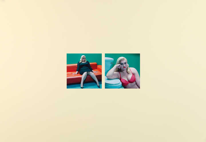 Fast Cars, Fast Food #4, 7 - Diptych by Miles Aldridge