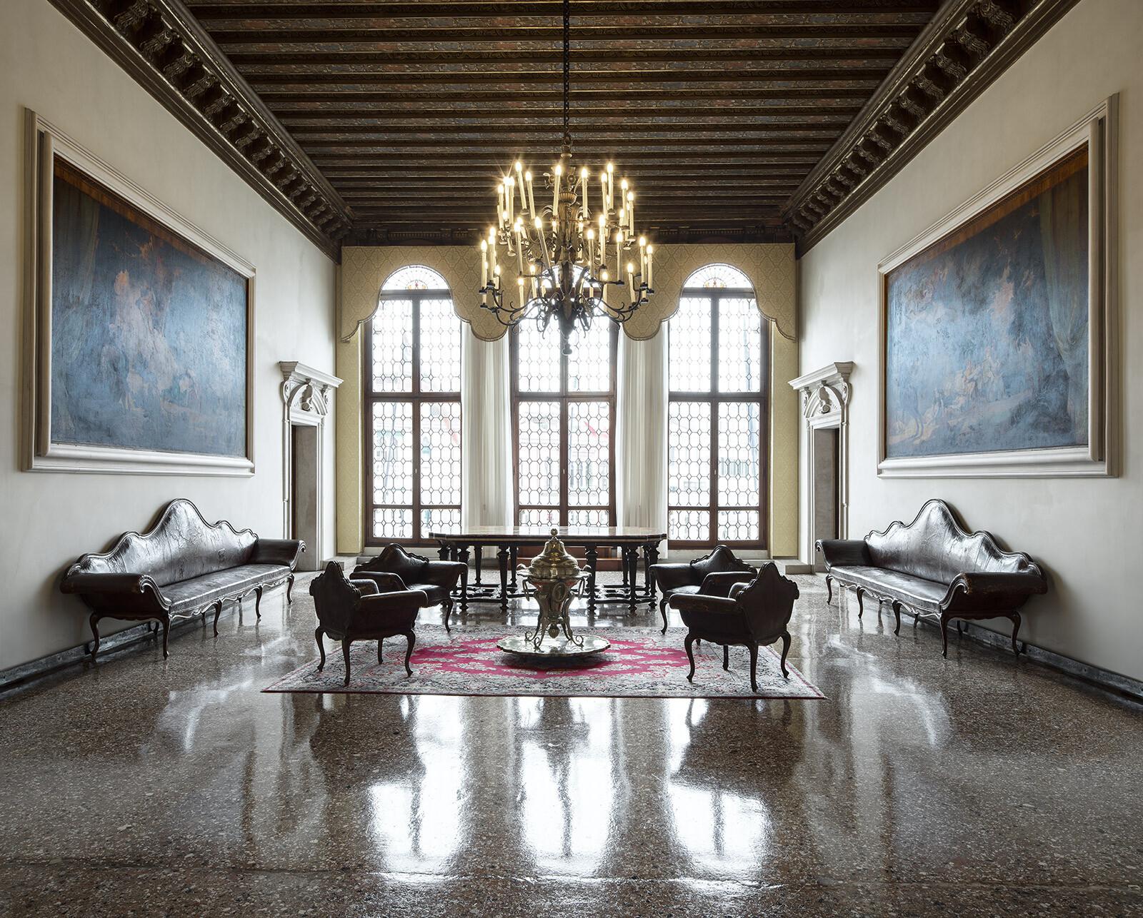 Palazzo Balbi, Sala - Reinhard Görner