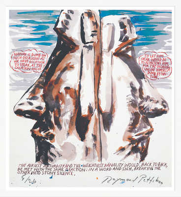 Ohne Titel (Nature is Dumb) de Raymond Pettibon