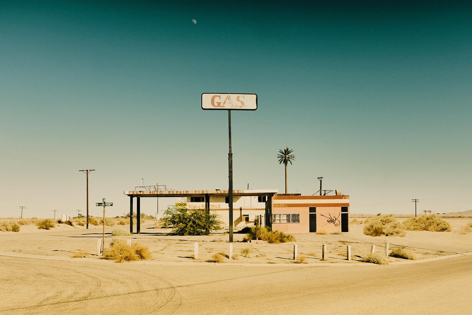 Gas Station - Sarah Johanna Eick