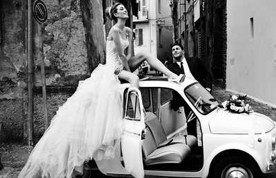 Italian Wedding II von David Burton | Trunk Archive