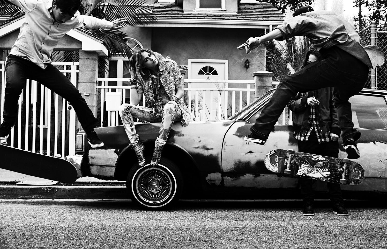 LA Skaters - David Burton | Trunk Archive