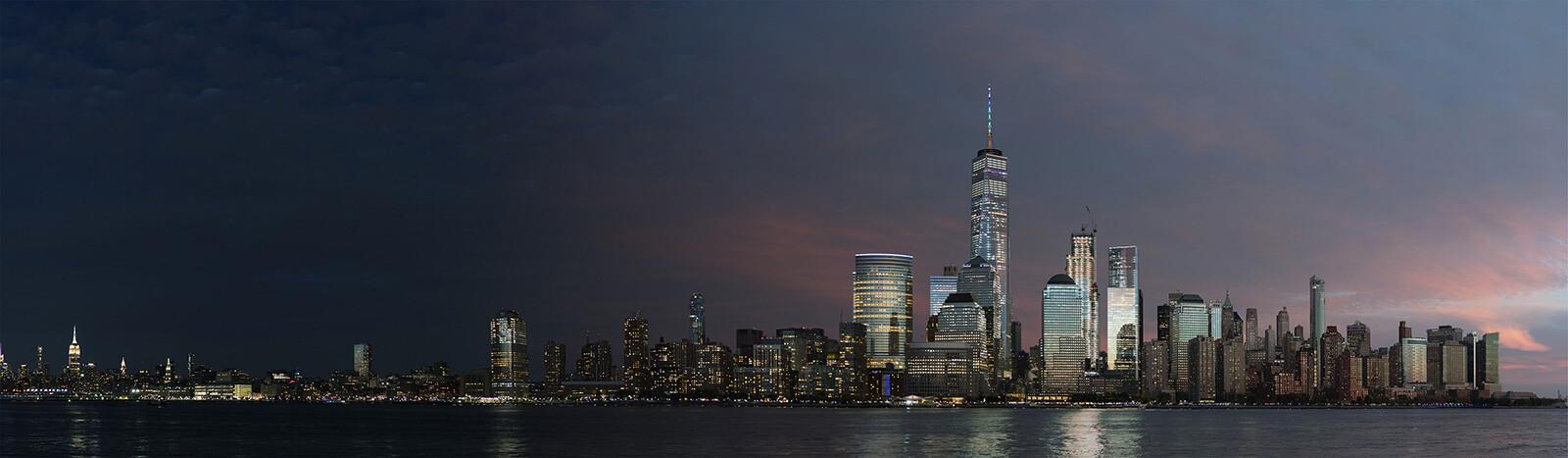 NYC Sunset - Armand Dijcks