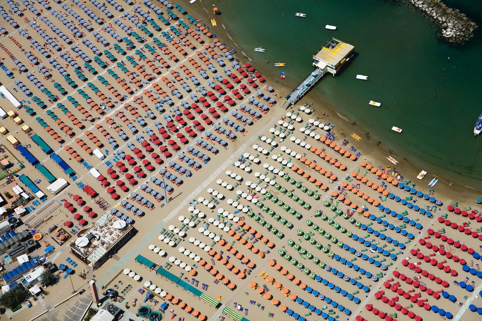 Adriatic Coast, Cattolica, Italy - Alex Maclean