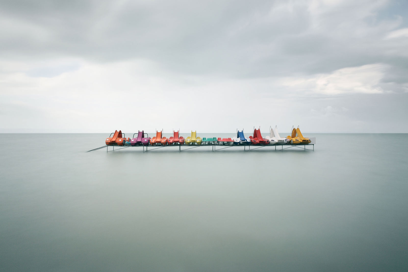 Pedalboats #3 von Akos Major