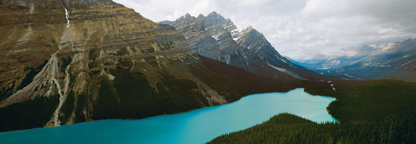Peyto Lake, Alberta, Canada - Axel M. Mosler