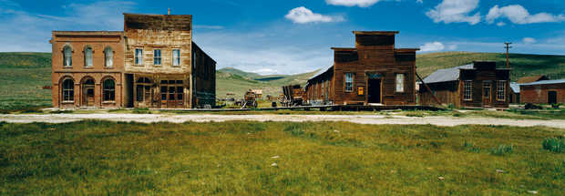 Ghost town Bodie, Sierra Nevada, California, USA - Axel M. Mosler