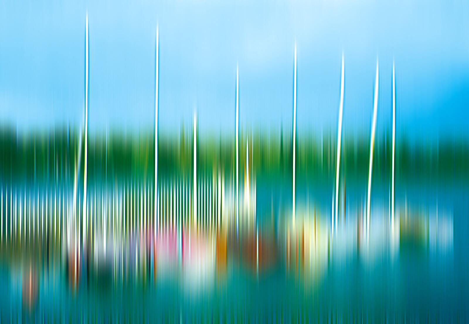 Segelboote - Alster - Anja Neudert