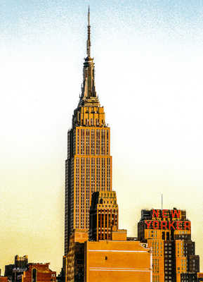 Empire State New Yorker von Bernard Grilly