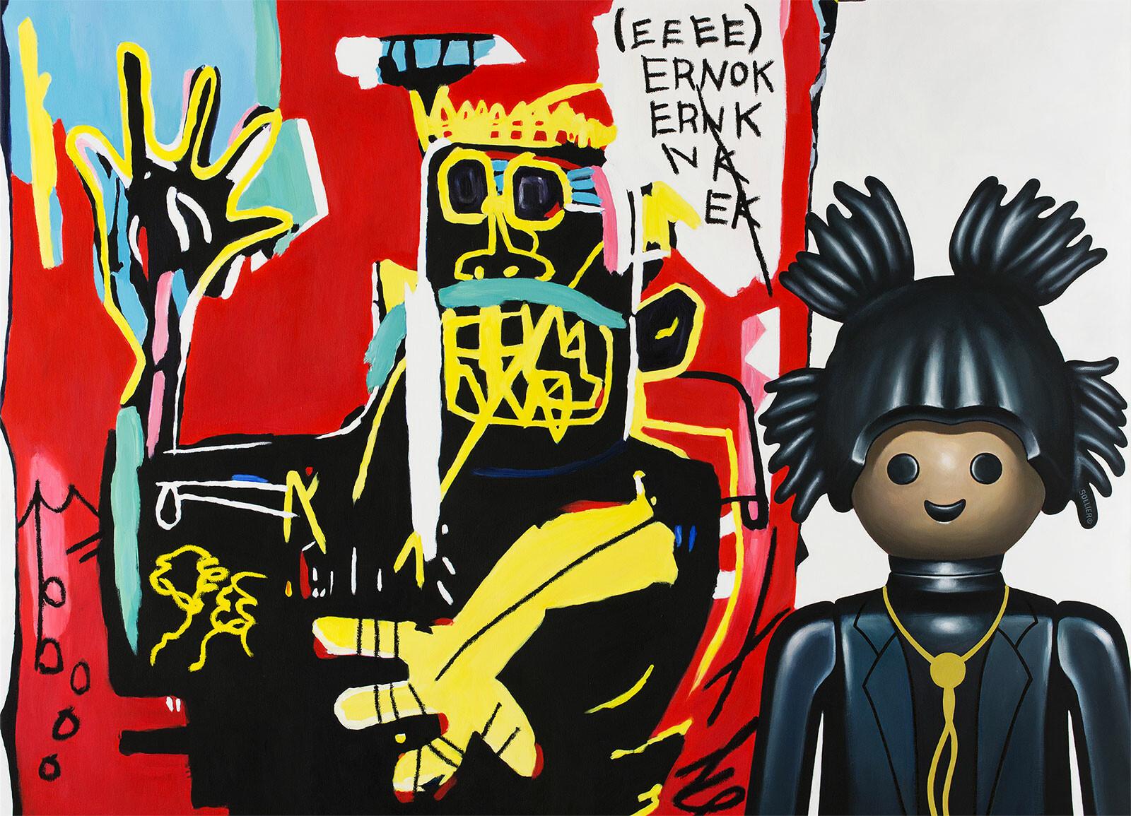 Basquiat - Pierre-adrien Sollier