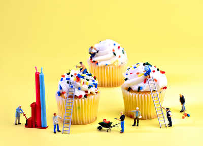 Cupcake Construction de Cathy Scola