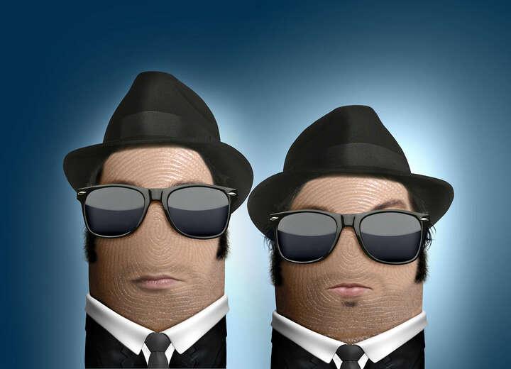 Blues Brothers von Dito Von Tease