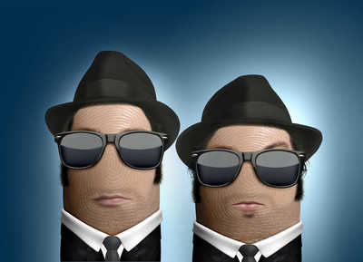Blues Brothers von Dito Von Tease