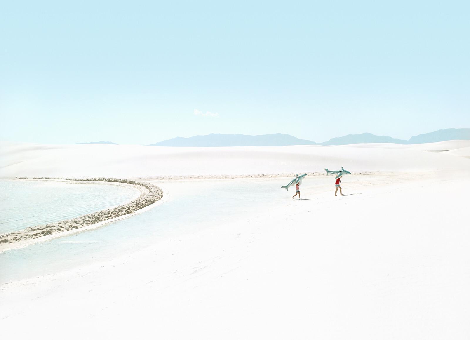White Sands Beach #5 - Julia Christe