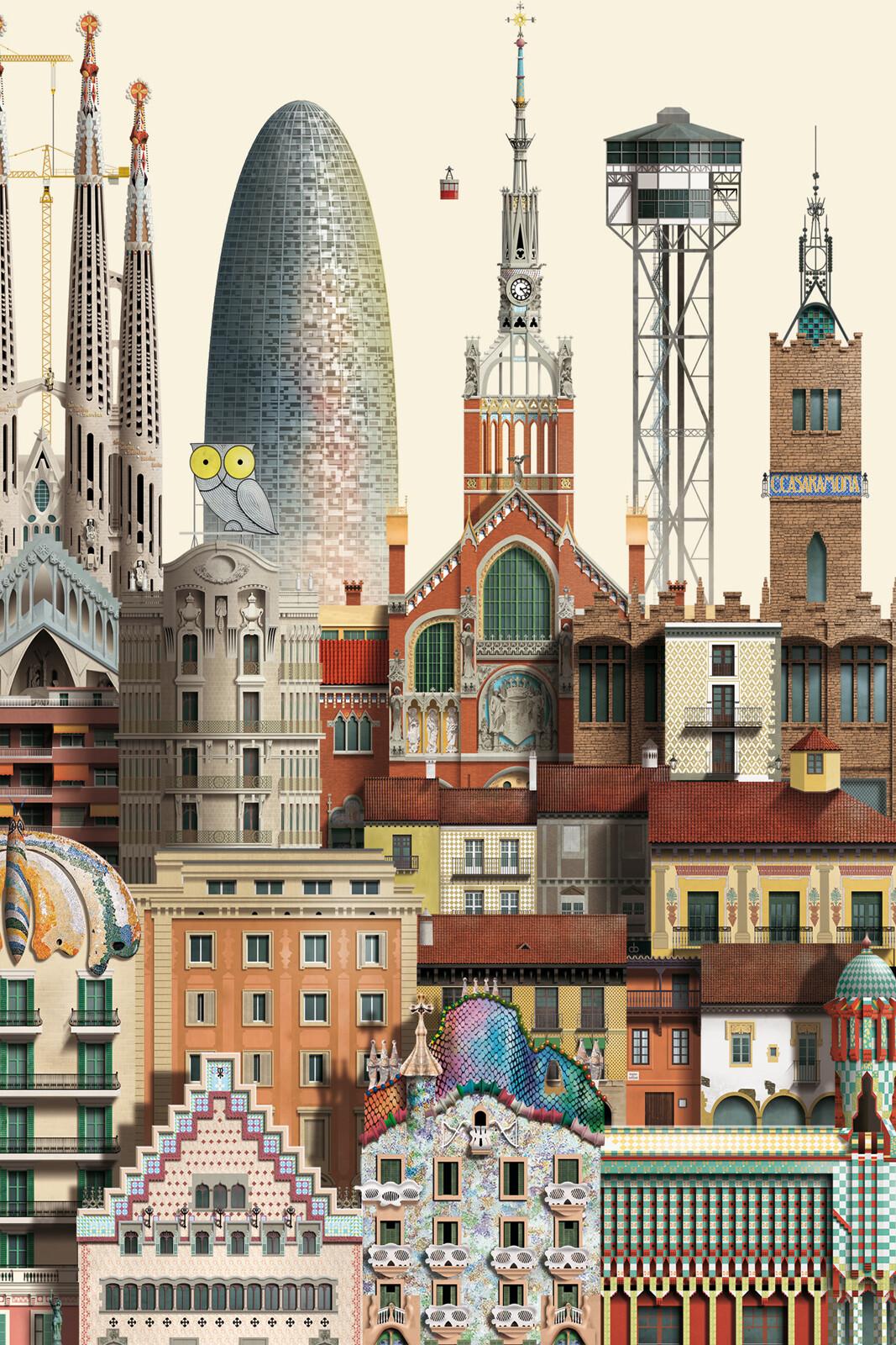 Barcelona II - Martin Schwartz