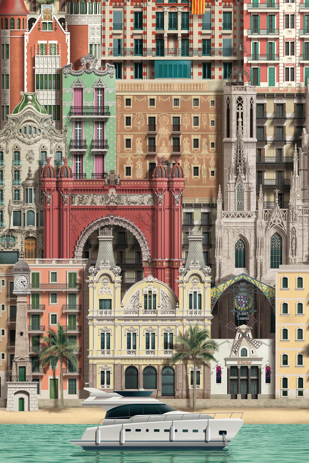 Barcelona III - Martin Schwartz