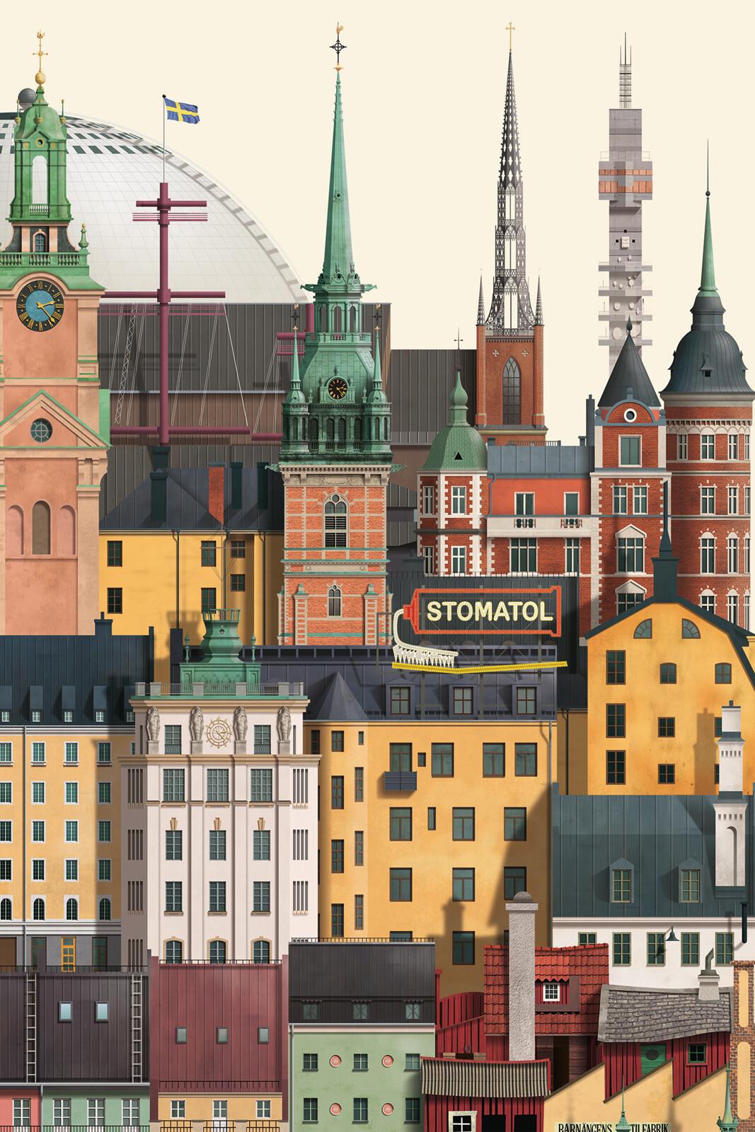 Stockholm II - Martin Schwartz