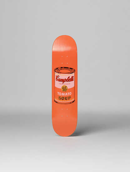 Coloured Campbell's Soup Peach