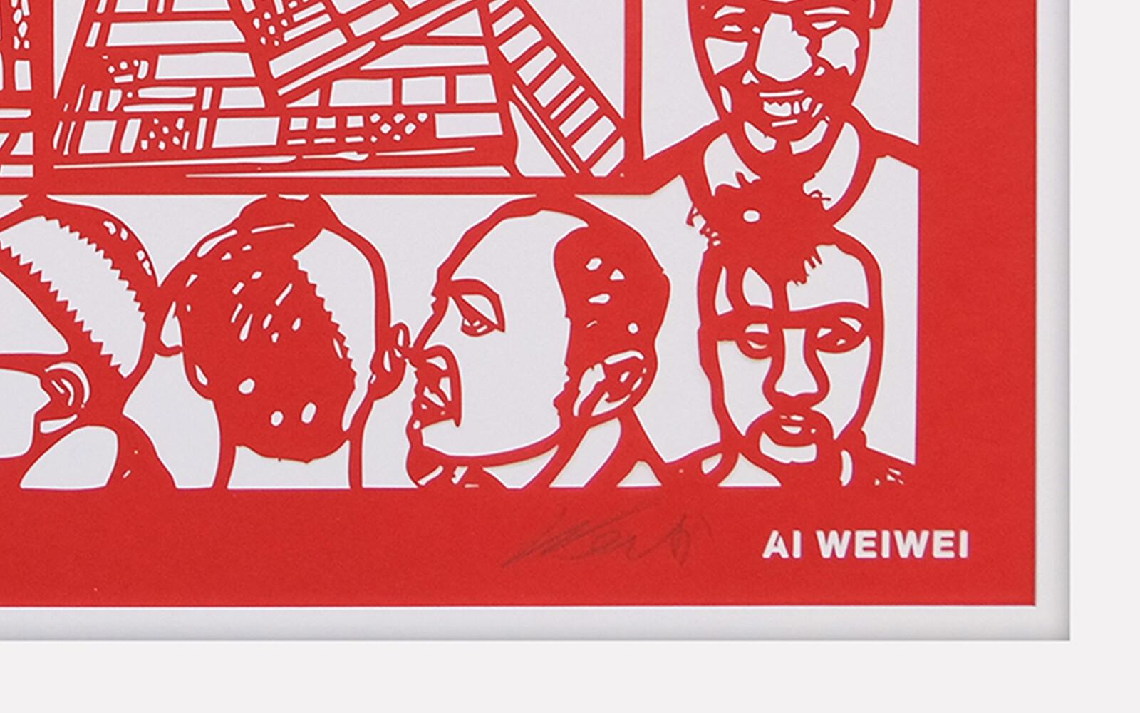 HAIR CUT - Ai Weiwei