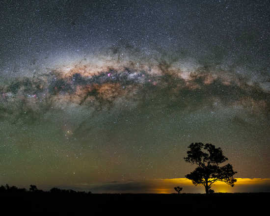 A Galactic Night of Planet Earth - Babak Tafreshi