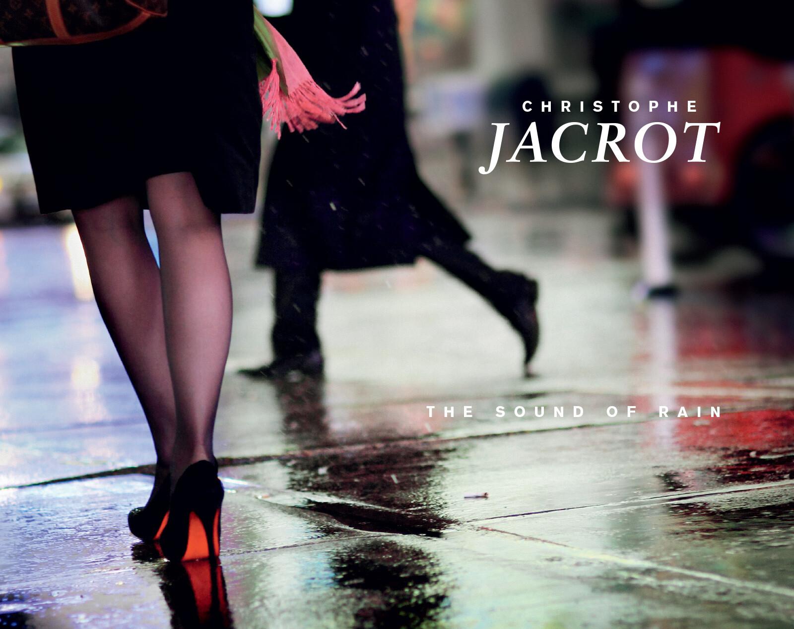 ARTIST BOOK - The Sound of Rain - Christophe Jacrot