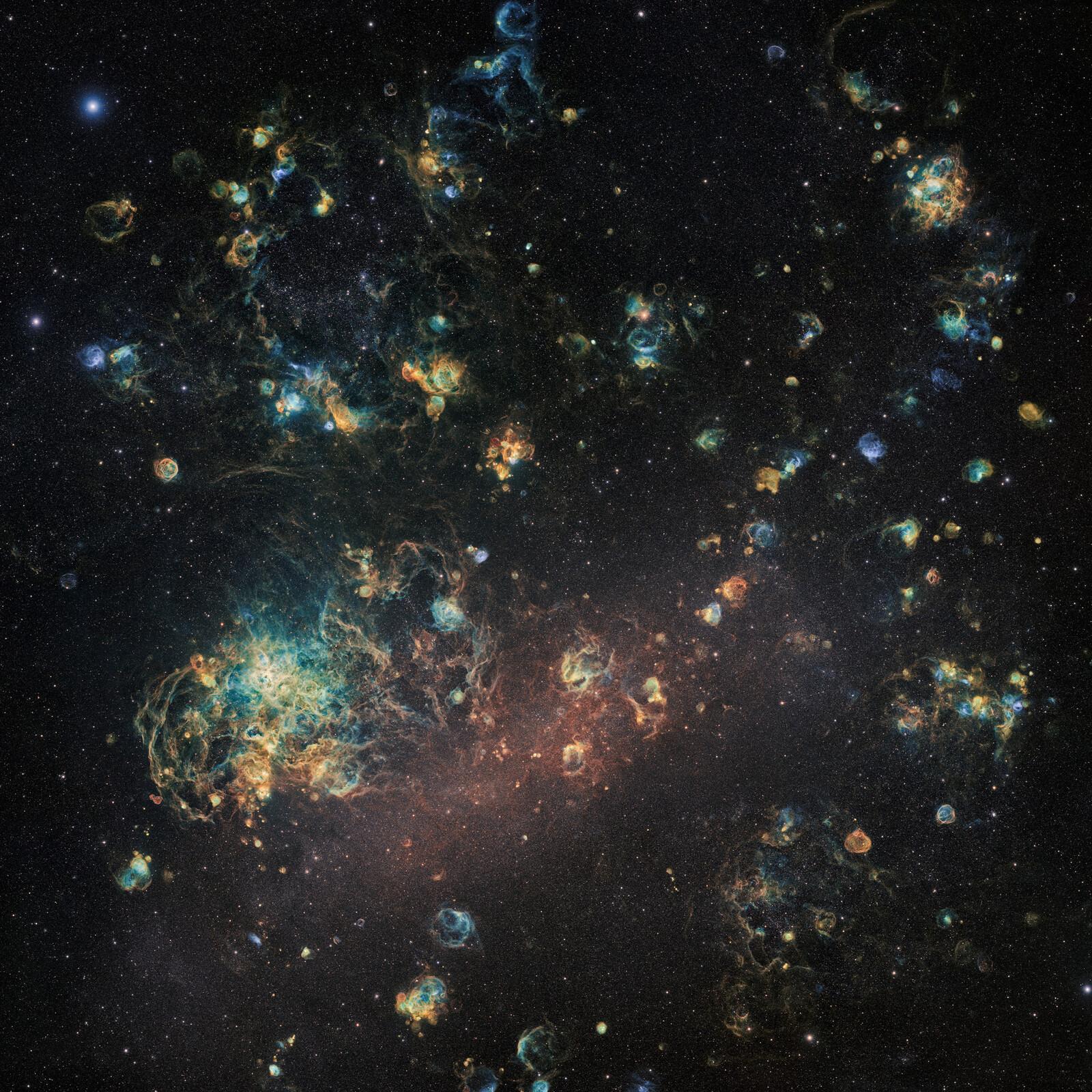 Le Grand Nuage De Magellan - Ciel Austral