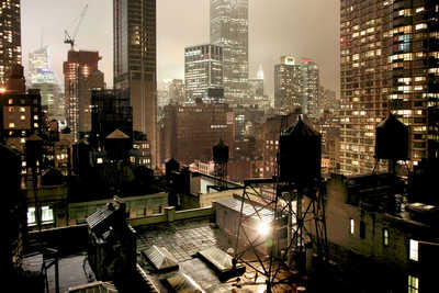Night light von Christophe Jacrot
