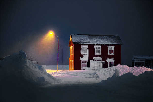 The Old Red House - Christophe Jacrot