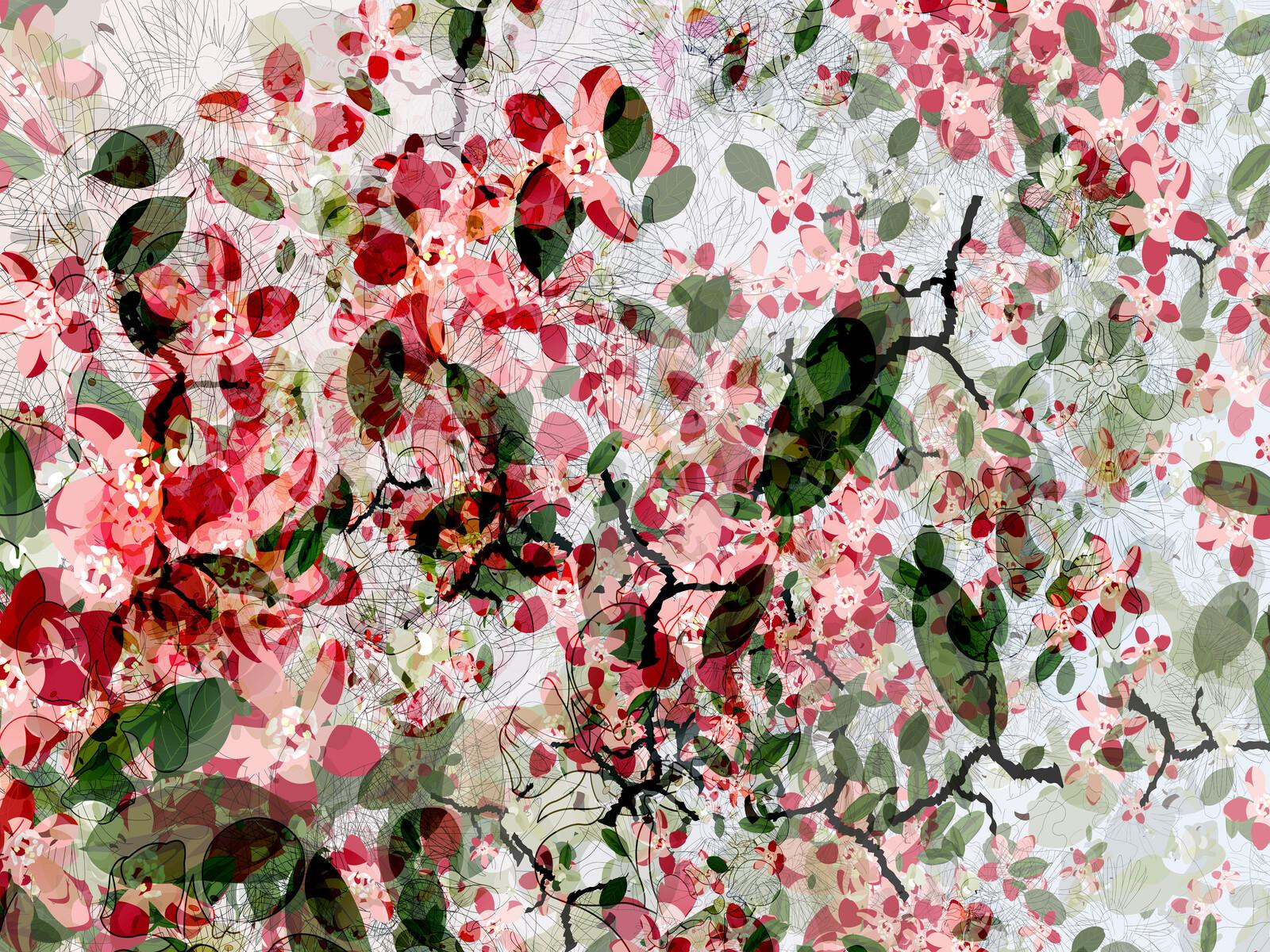 cherry blossom von christine jaschek lumas. Black Bedroom Furniture Sets. Home Design Ideas