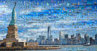 Our New York I by Charis Tsevis