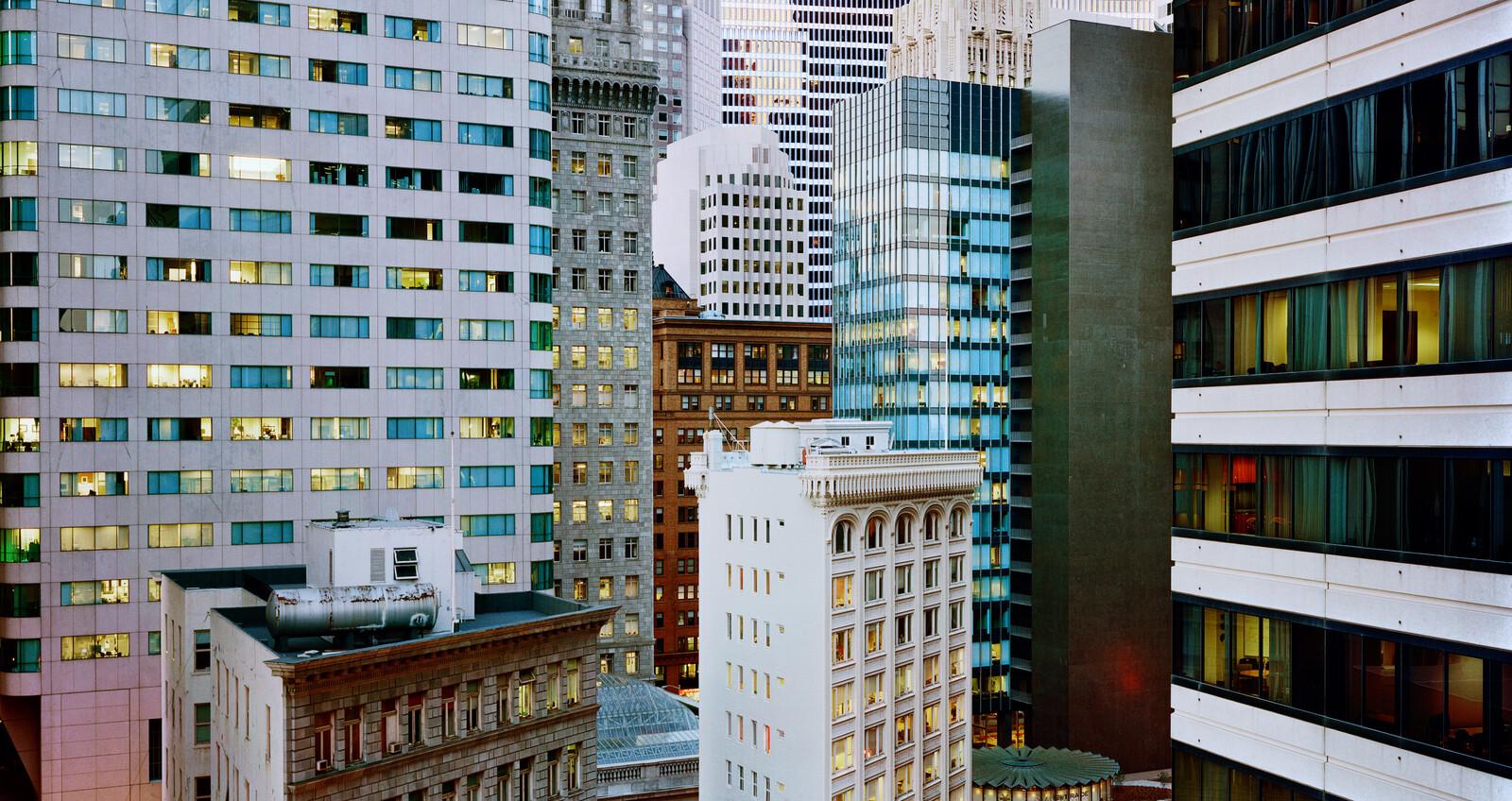 Market Street & 2nd Street, San Francisco - Christopher Woodcock