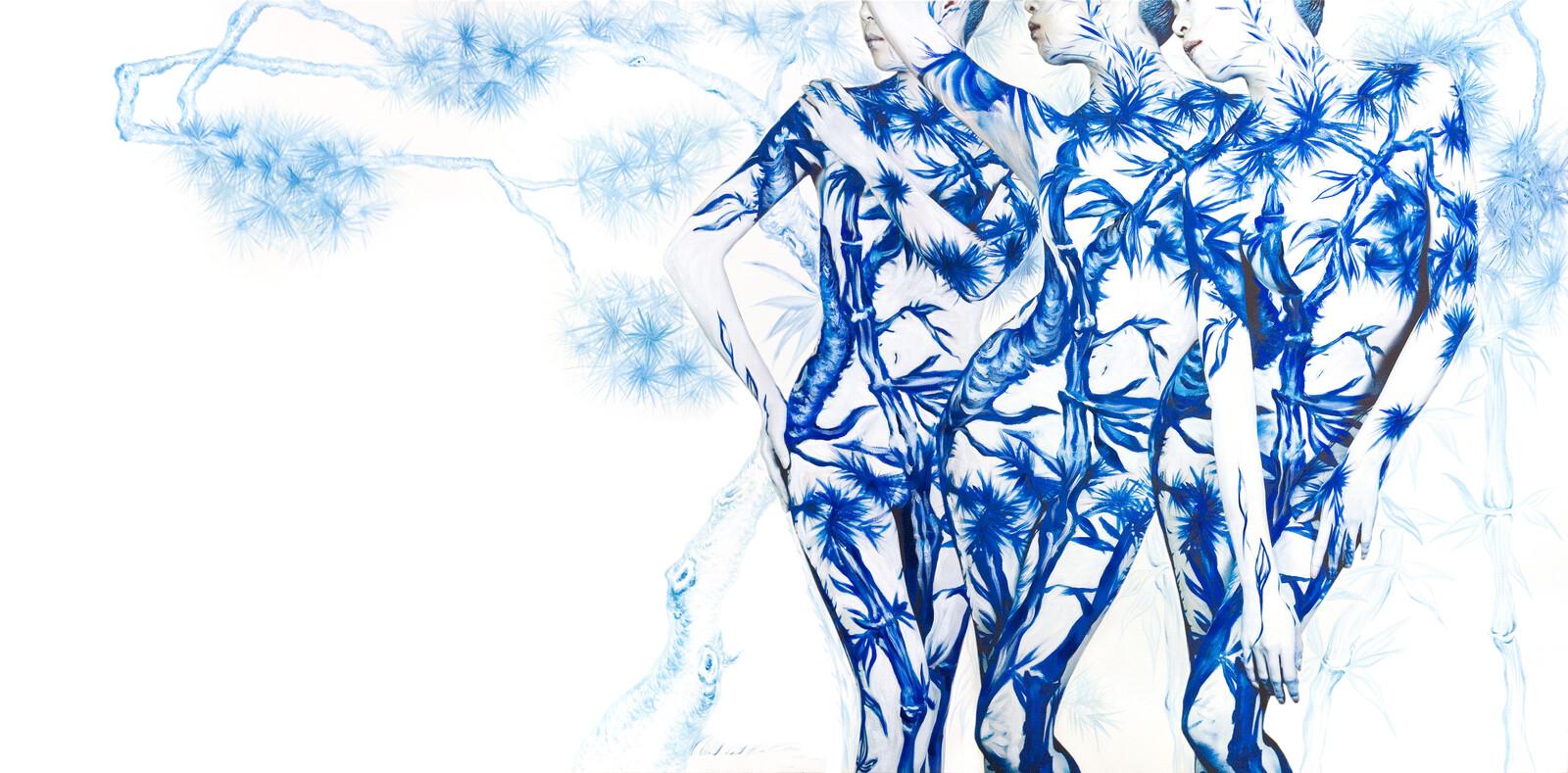 Blue White Porcelain 01 - Dallae Bae