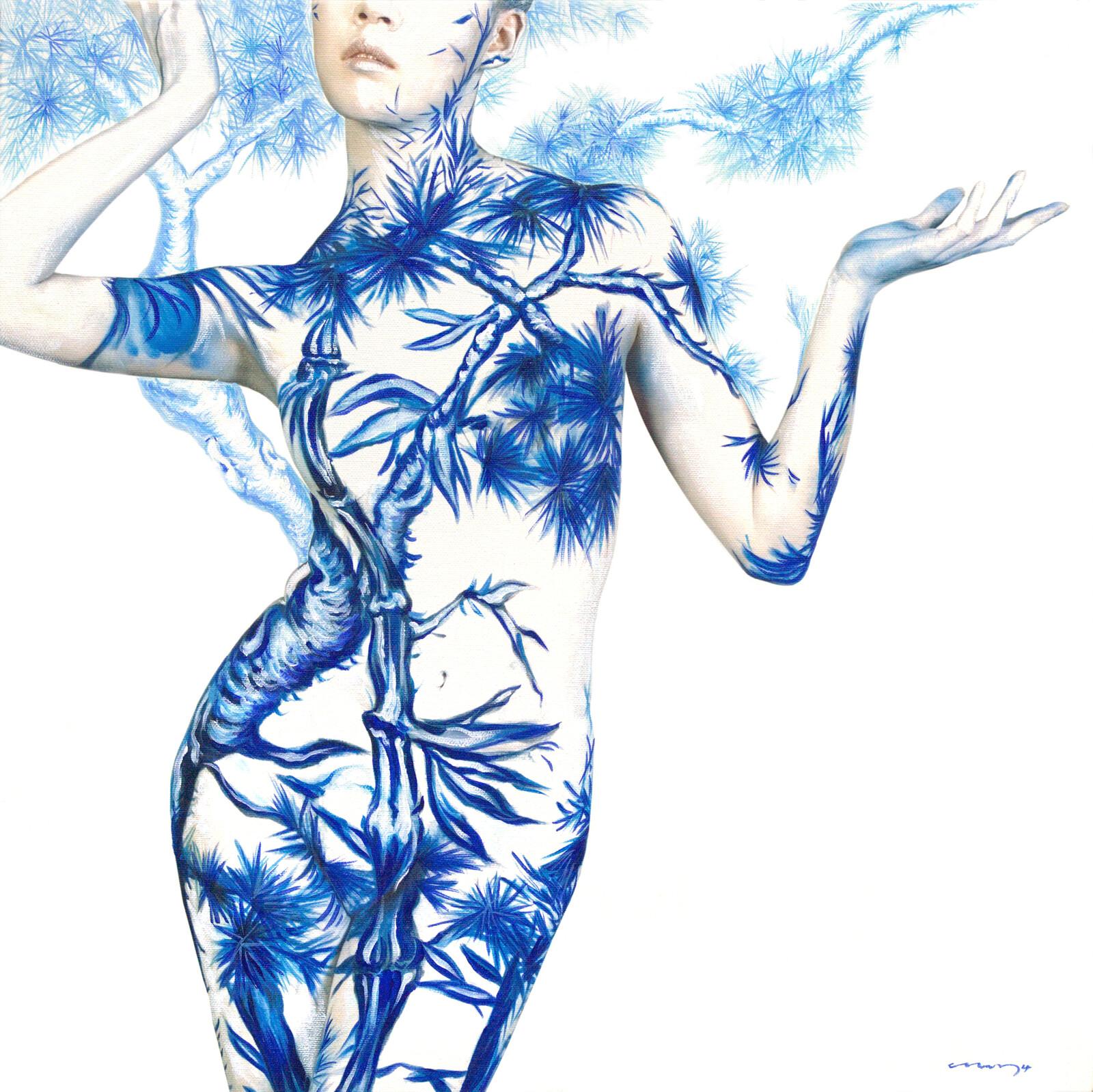 Blue White Porcelain 03 - Dallae Bae