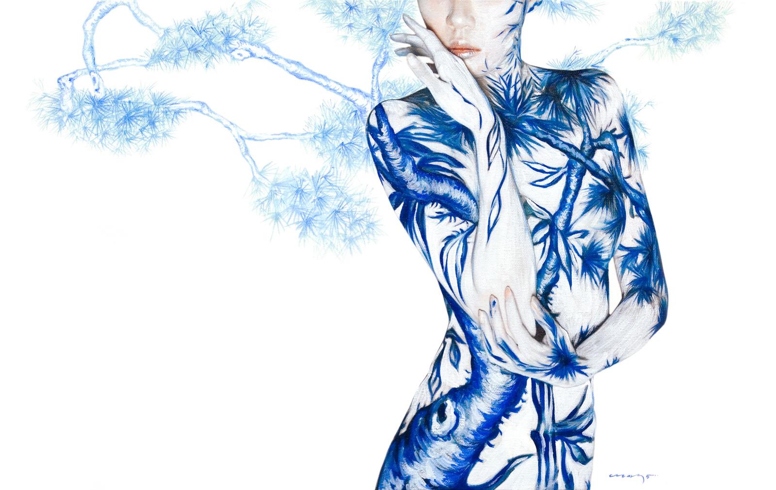 Blue White Porcelain 04 - Dallae Bae