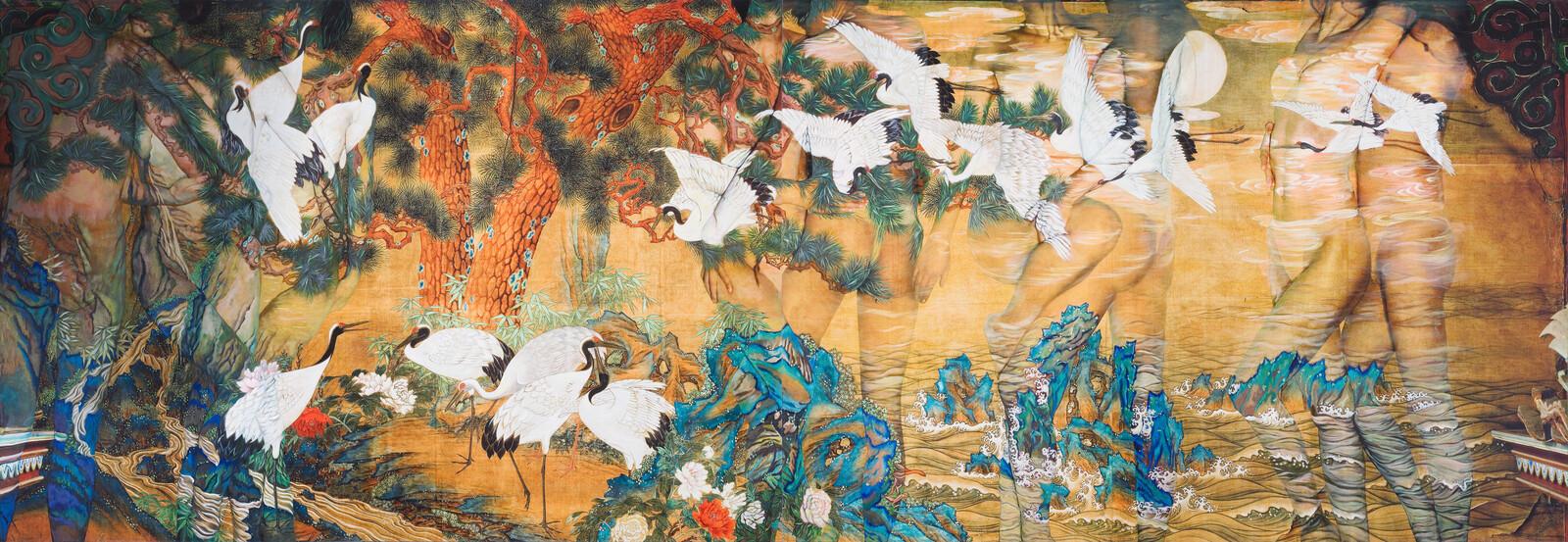 White Crane - Dallae Bae