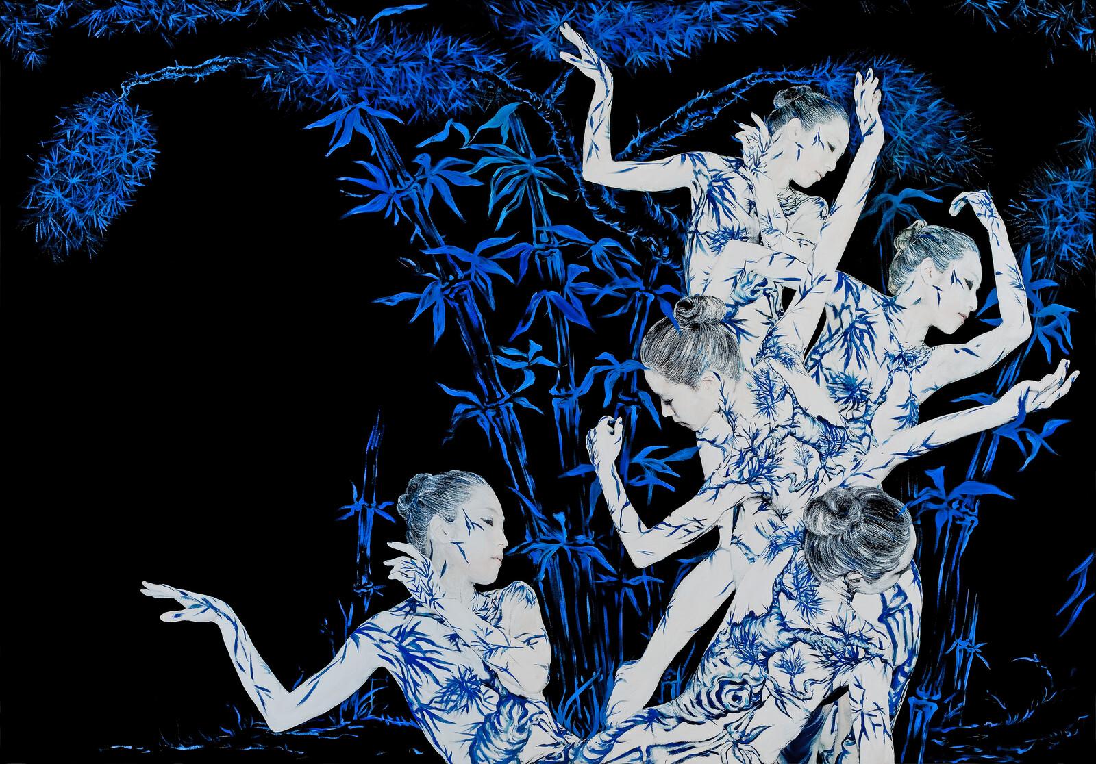Blue Black Porcelain 03 - Dallae Bae