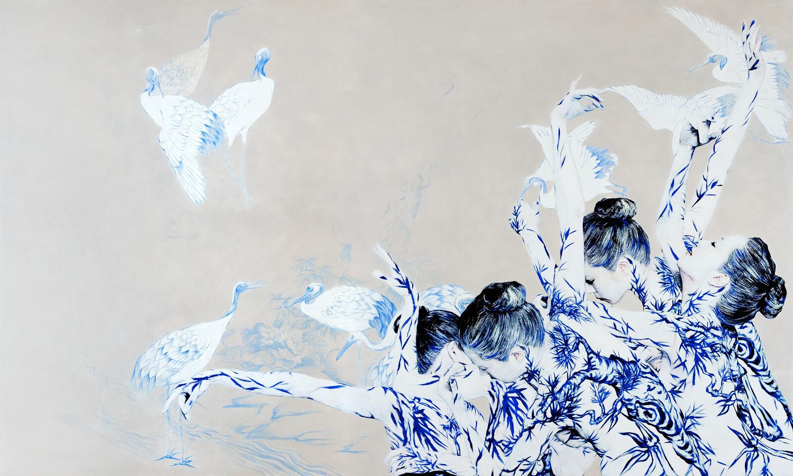 Blue White Porcelain 05 - Dallae Bae