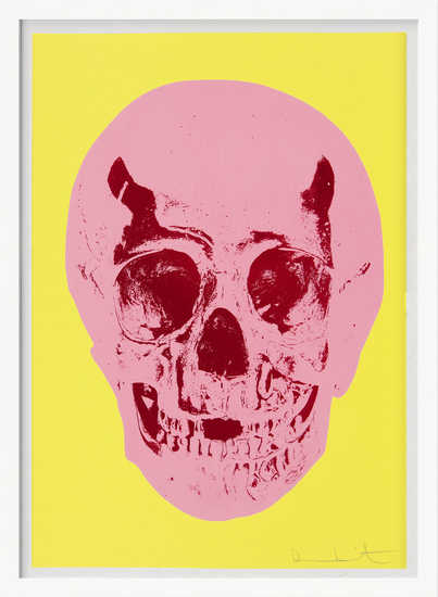 Till Death Do Us Part - Heaven - Lemon Yellow Pigment Pink Chilli Red Pop Skull