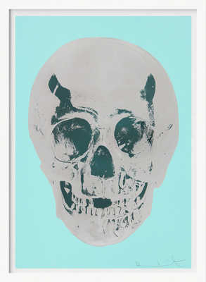 Till Death Do Us Part - Heavenly - Peppermint Green Silver Gloss Racing Green de Damien Hirst