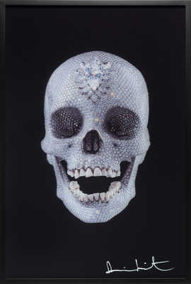 For the Love of God - Lenticular de Damien Hirst