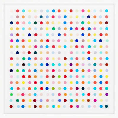 Mescaline - Spot Lenticular by Damien Hirst
