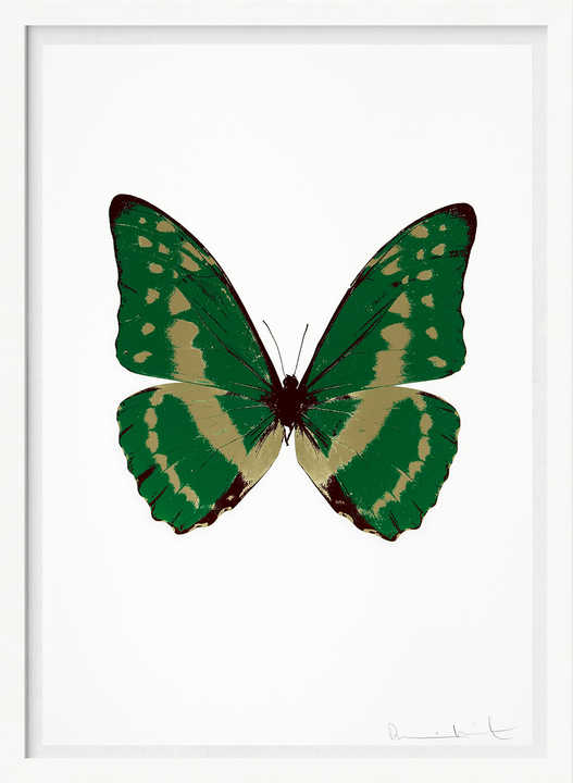 The Souls III - Emerald Green Cool Gold Burgundy by Damien Hirst